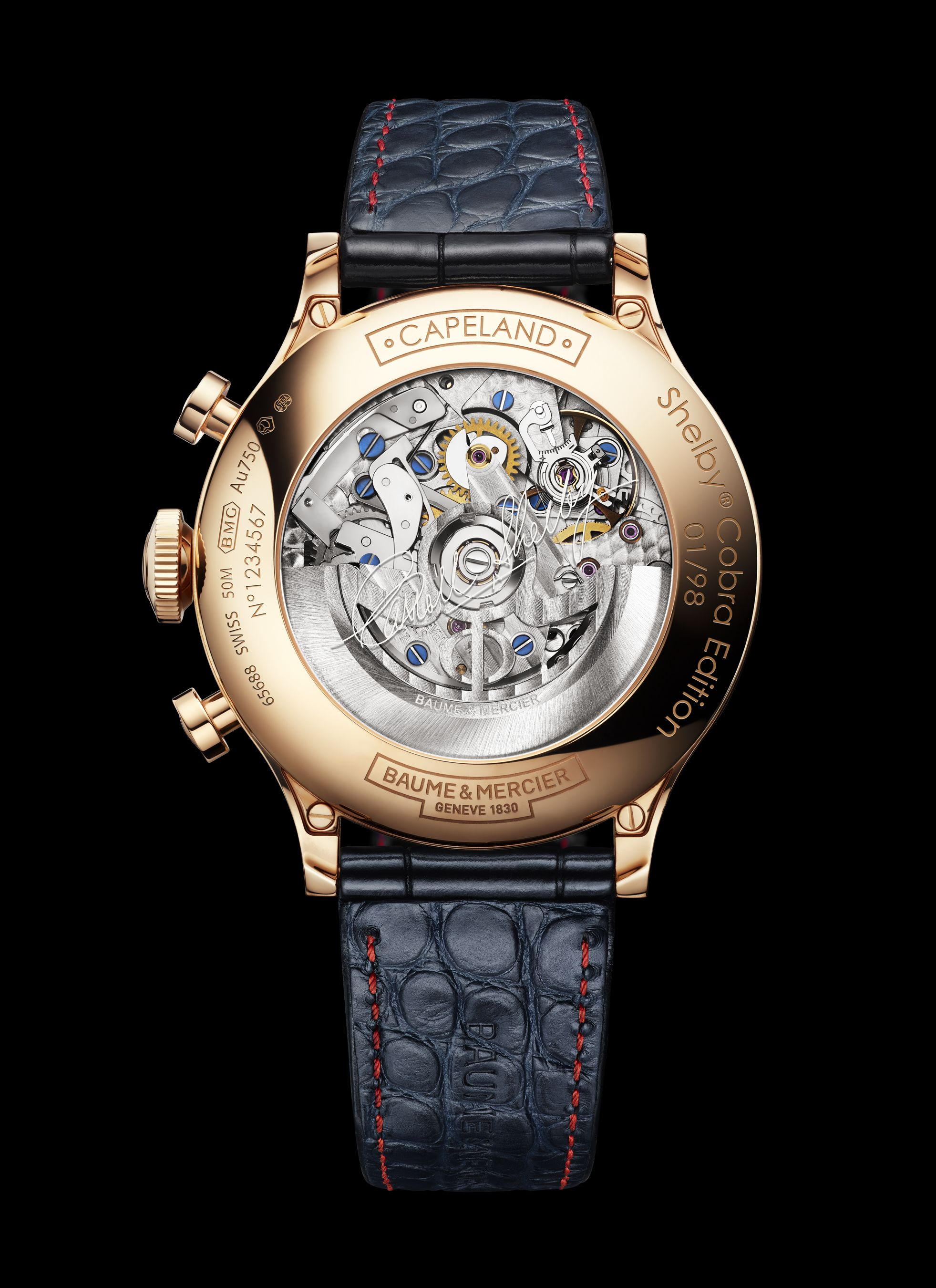 10233 Capeland Cobra Limited Edition 18K red gold, 44 mm